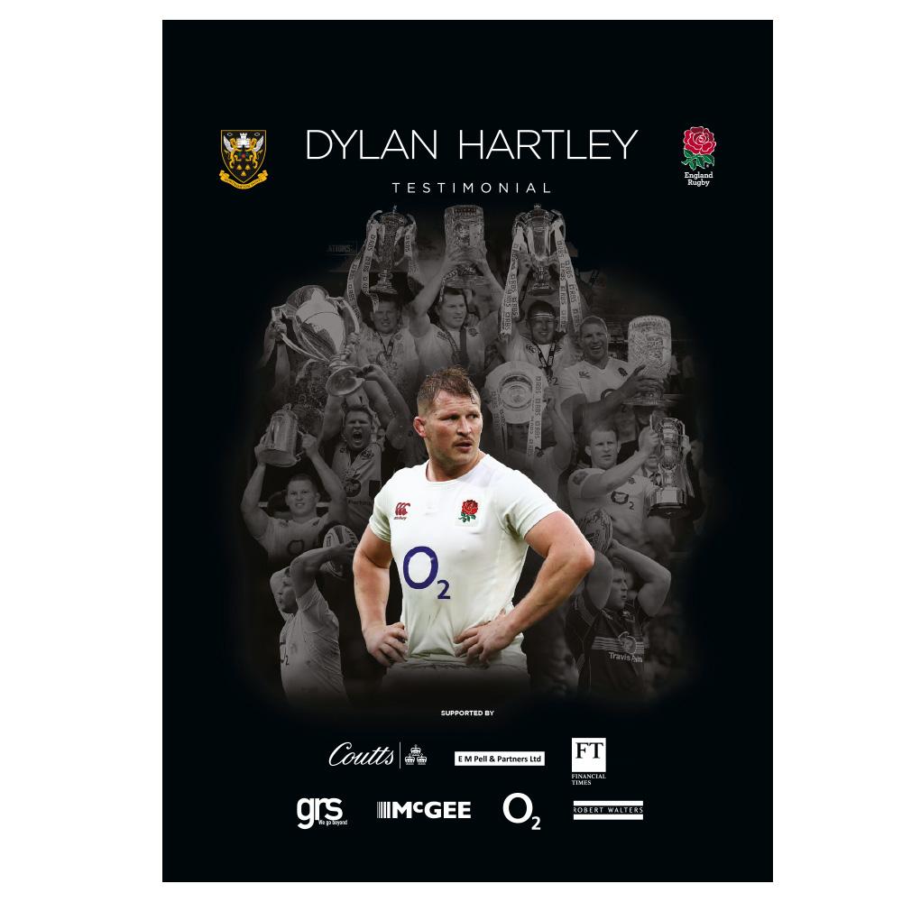 Dylan Hartley Testimonial event brochure