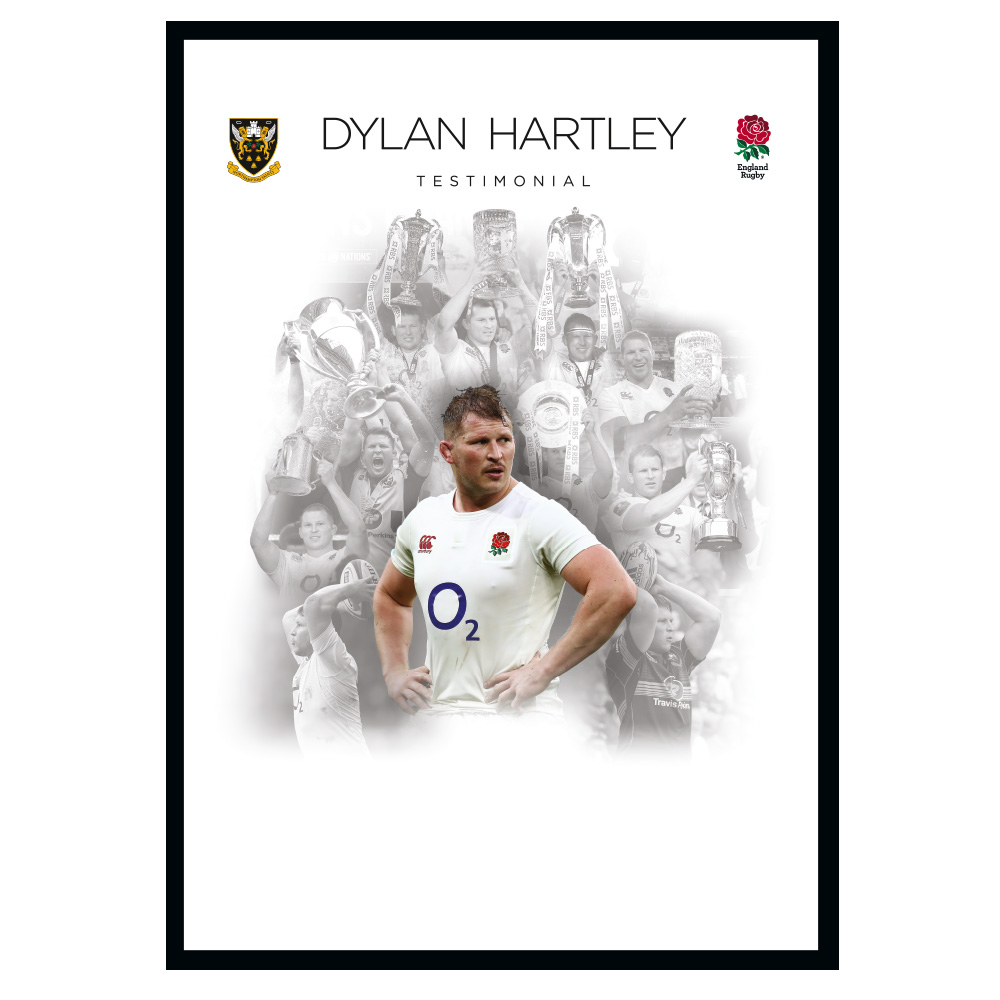 Dylan Hartley Testimonial signature sheet