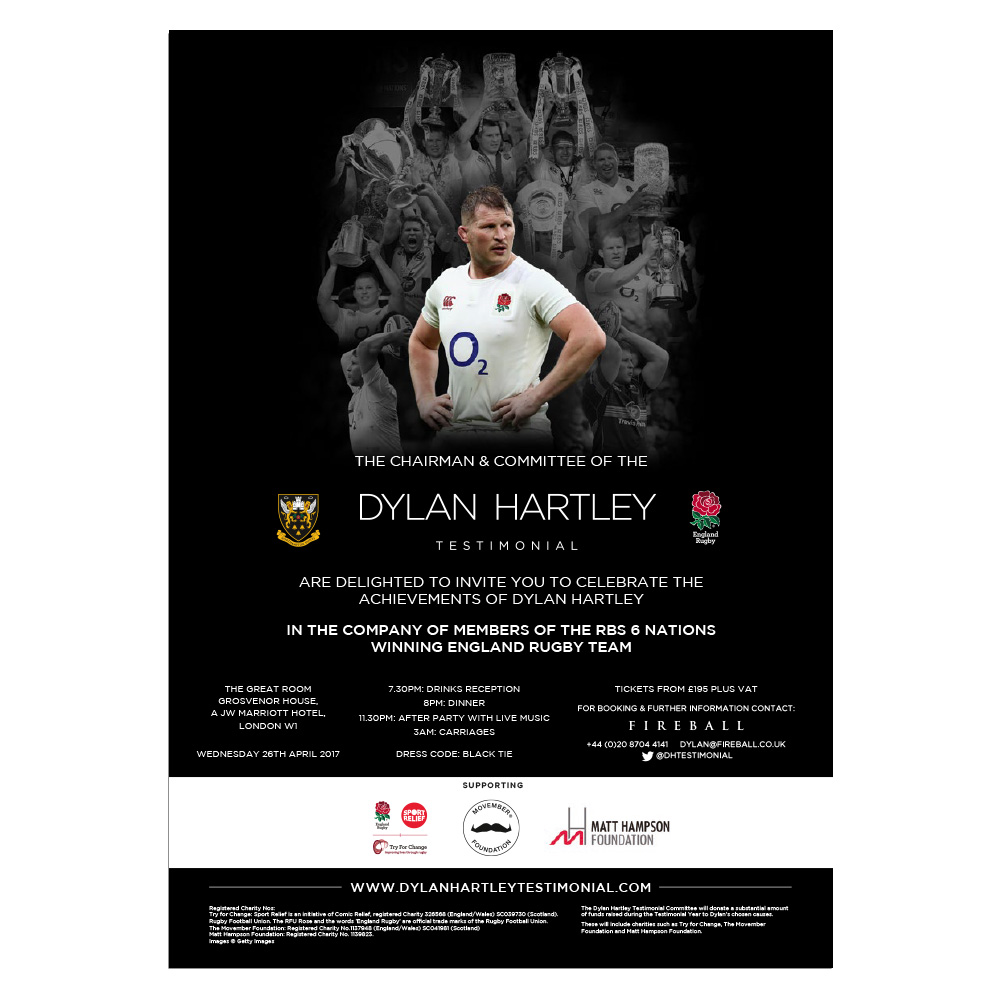 Dylan Hartley Testimonial pdf flier