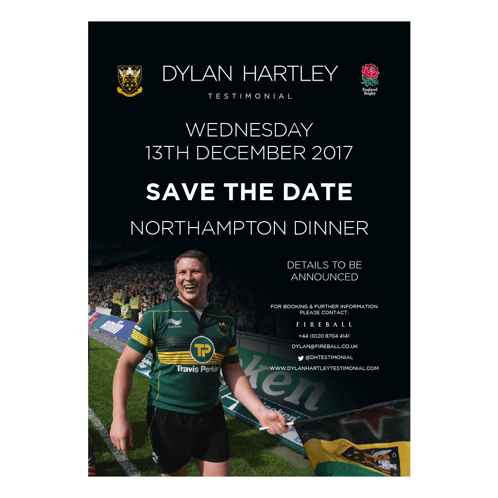 Dylan Hartley Testimonial advertising