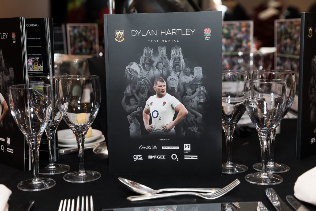 Dylan Hartley Testimonial event