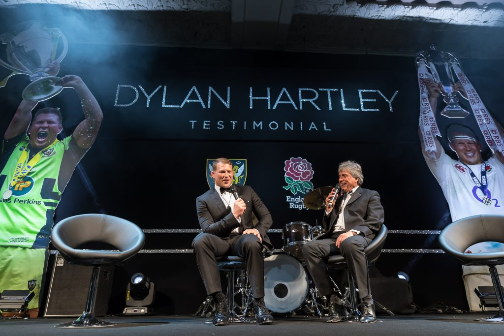 Dylan Hartley Testimonial set