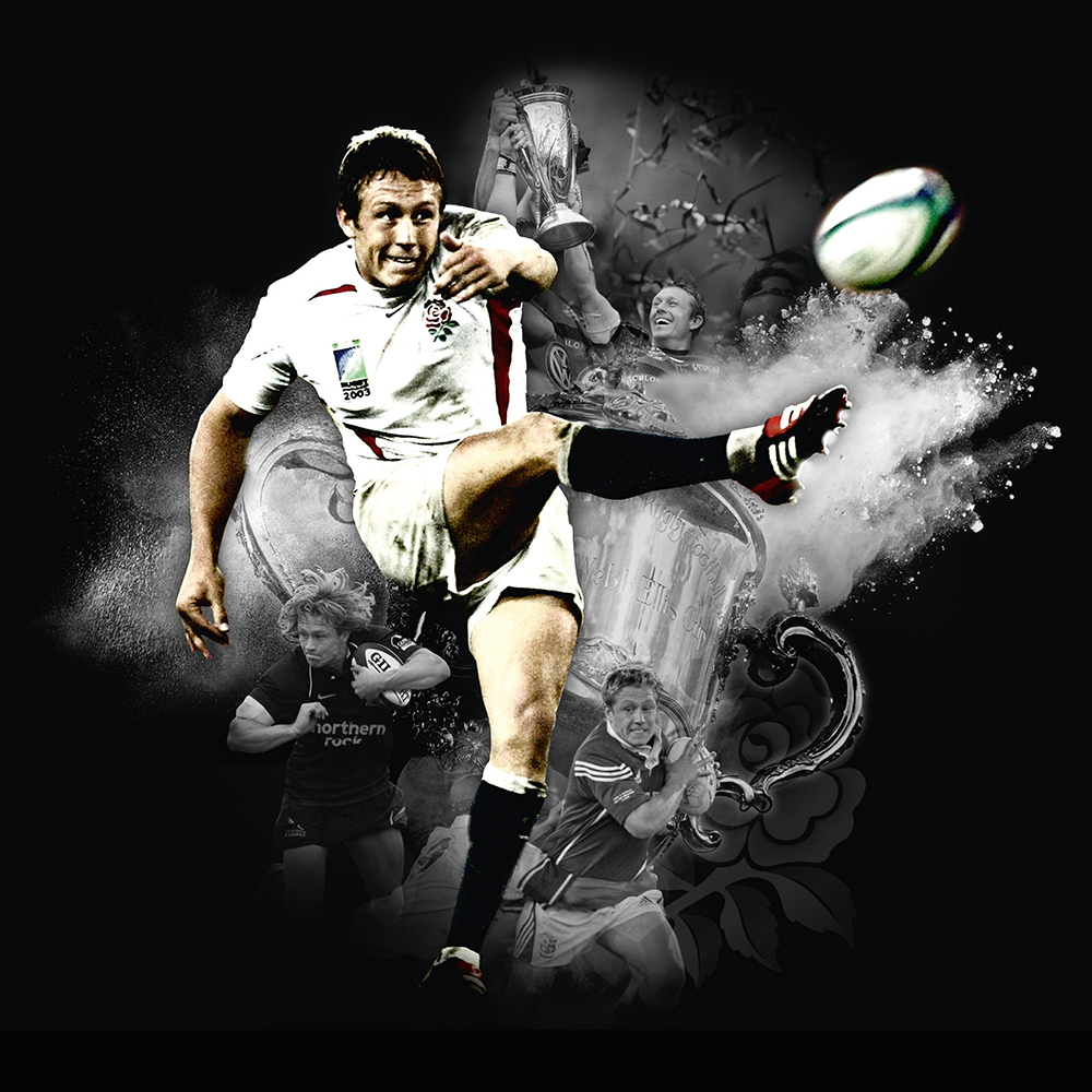 Design of the Jonny Wilkinson Testimonial Brand