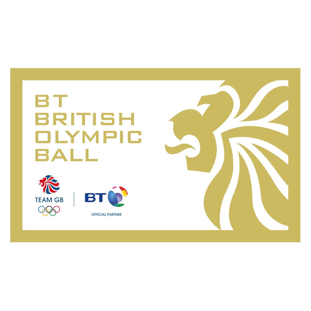 BT British Olympic Ball 2012 Branding