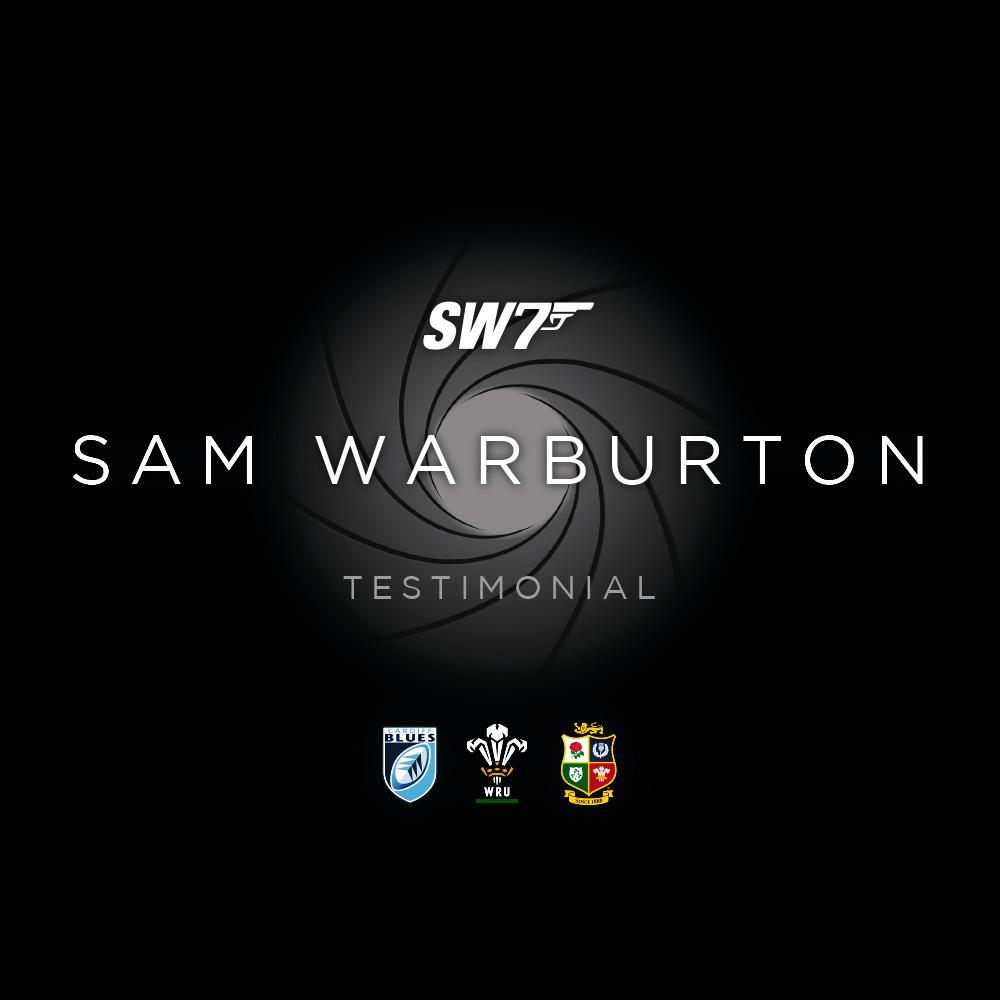 Sam Warburton Testimonial 2018 Branding