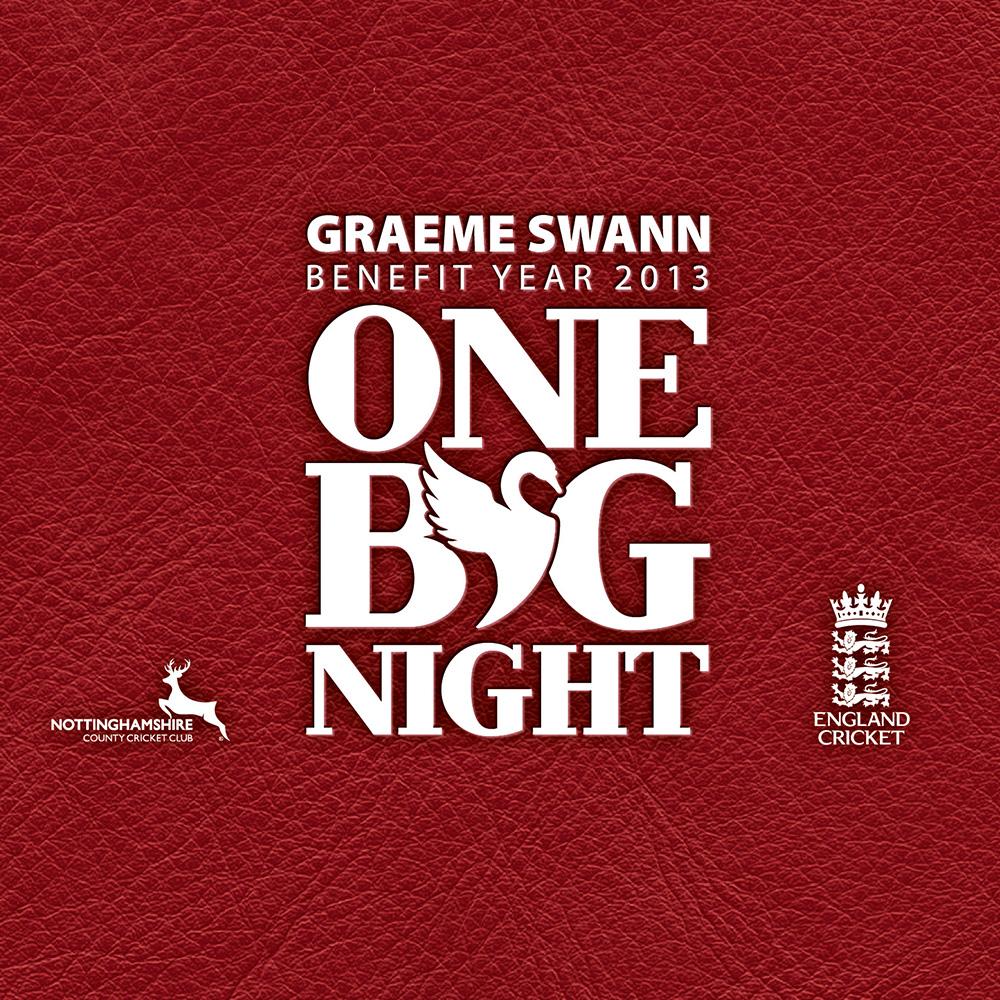 Graeme Swann Benefit Year Branding
