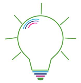 Lightbulb graphic.