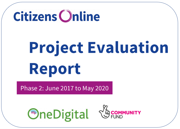 Citizens Online - Project Evaluation report - Phase 2 : June 2017 to May 2020