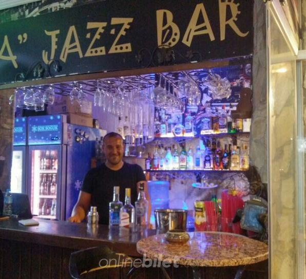 a jazz bar
