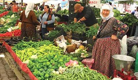 mazı köylü pazarı