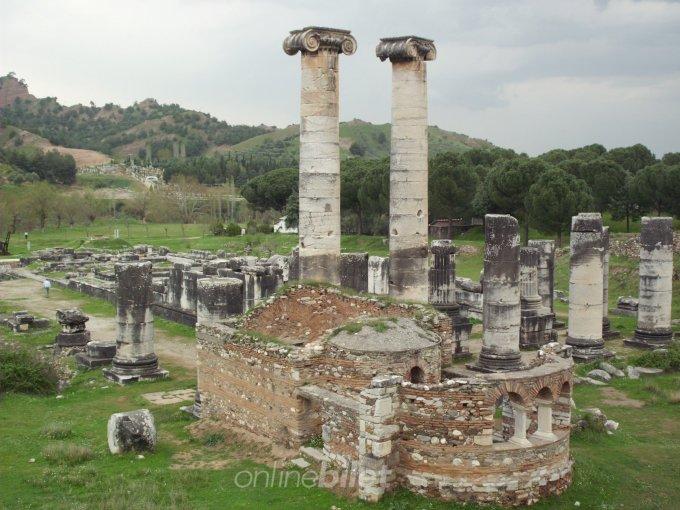 sardes anti kenti kalıntılar