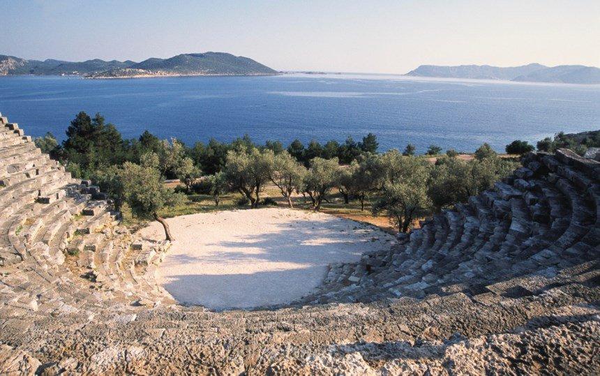 kaş antik tiyatrosu