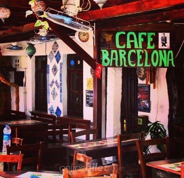 cafe barcelona kaş