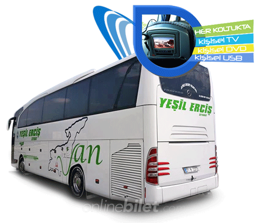 yeşil erciş otobüs