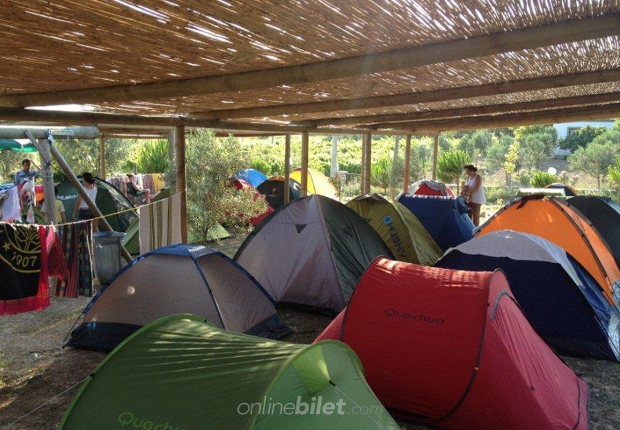 bozcada kamp alanı