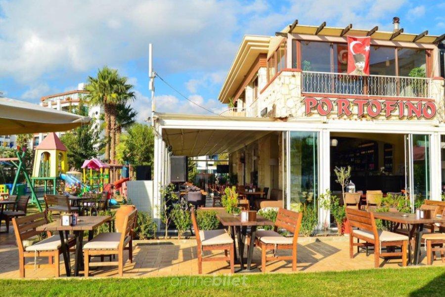 portofino beach marmaris kahvaltı