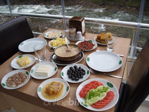 yeşil vadi kahvaltı çamlıhemşın