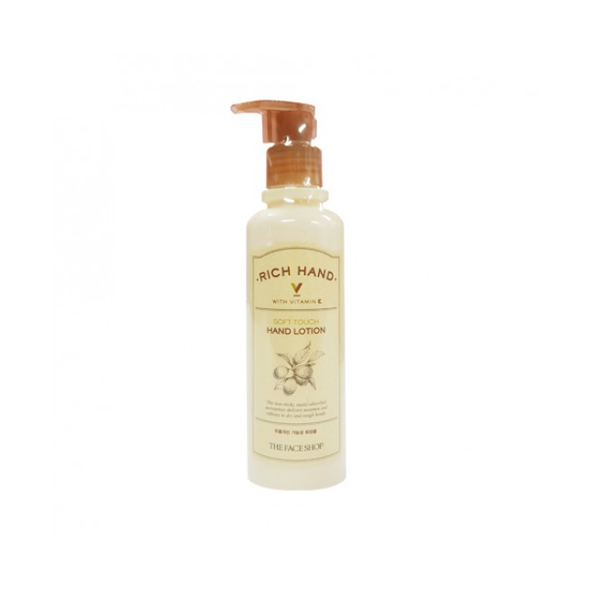 The Face Shop-RICH HAND V SOFT TOUCH HAND LOTION
