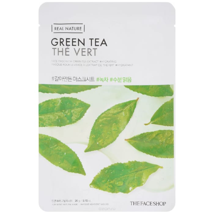 The Face Shop-Real Nature.Green Tea Face Mask
