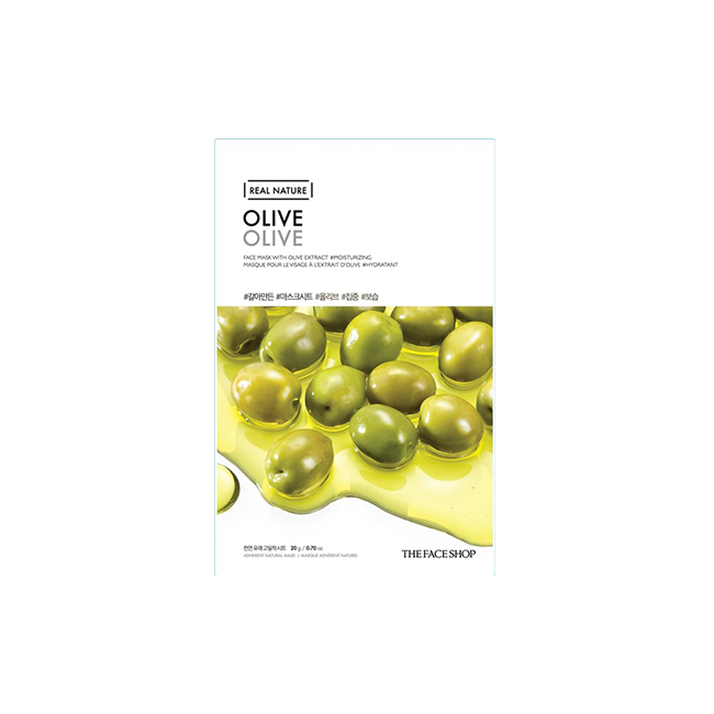 The Face Shop-Real Nature.Olive Face Mask