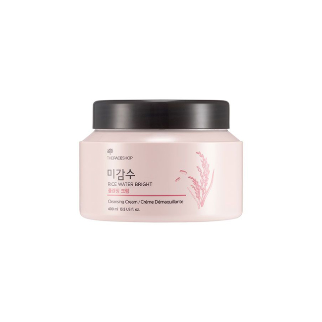 Theface Shop- Rice Water Bright Cleansing Cream 400Ml