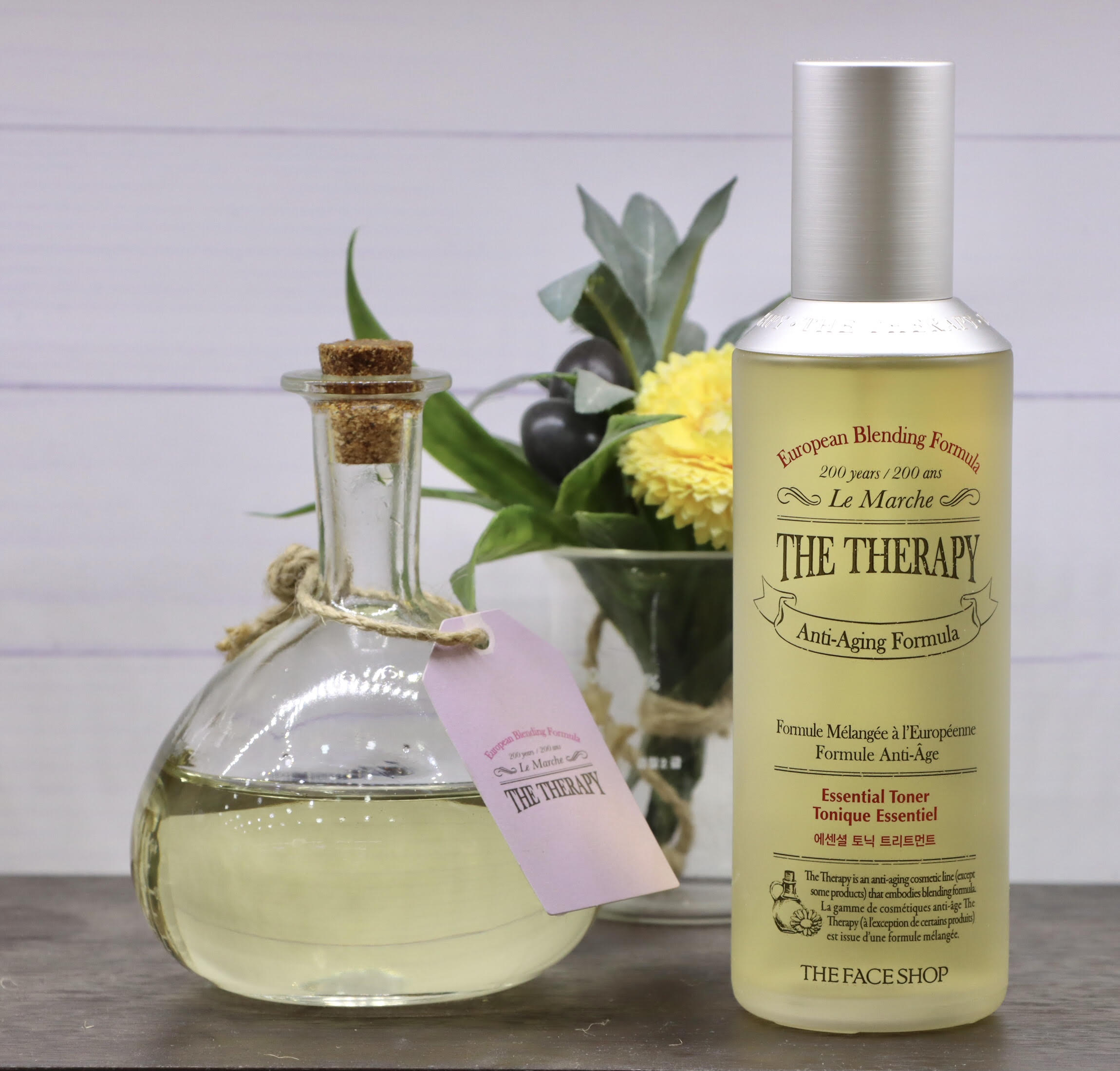 The Face Shop - The Therapy Essential Tonic Treatment