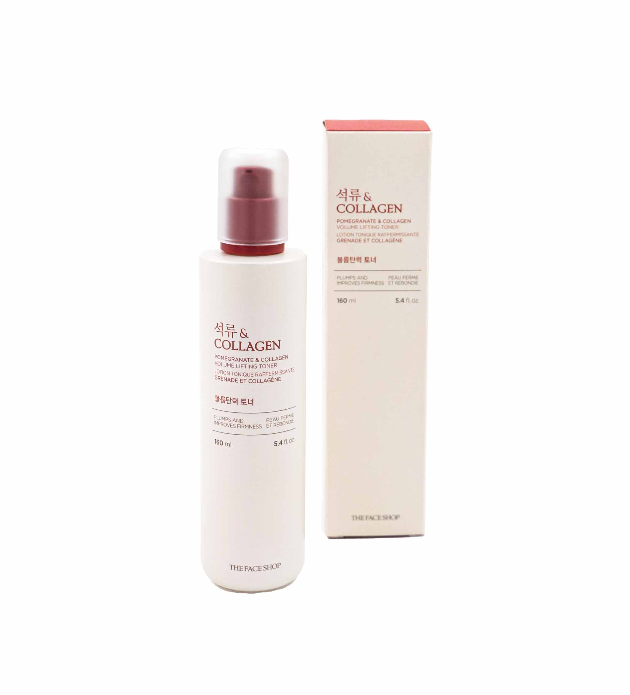 The Face Shop - Pomegranate and Collagen Volume Lifting Toner