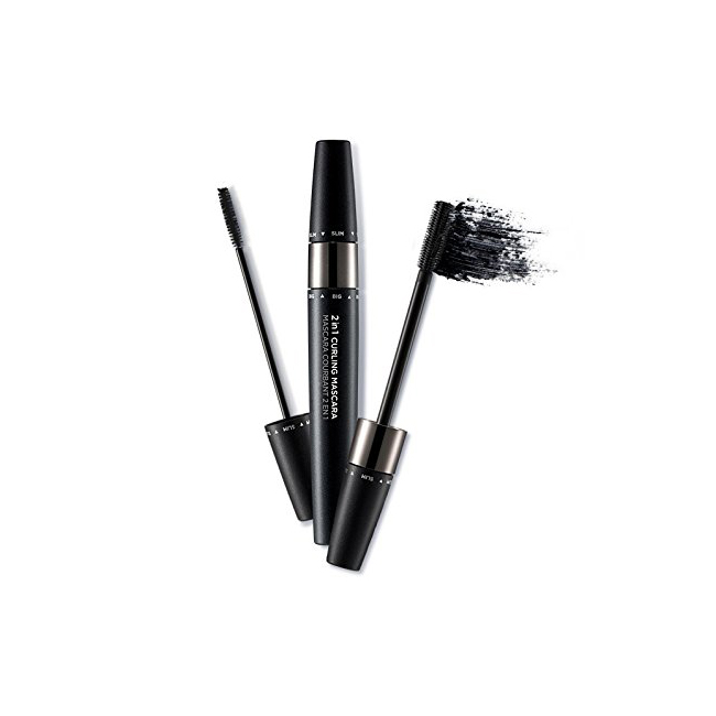 The Face Shop 2 in 1 Mascara Curling  02 Black
