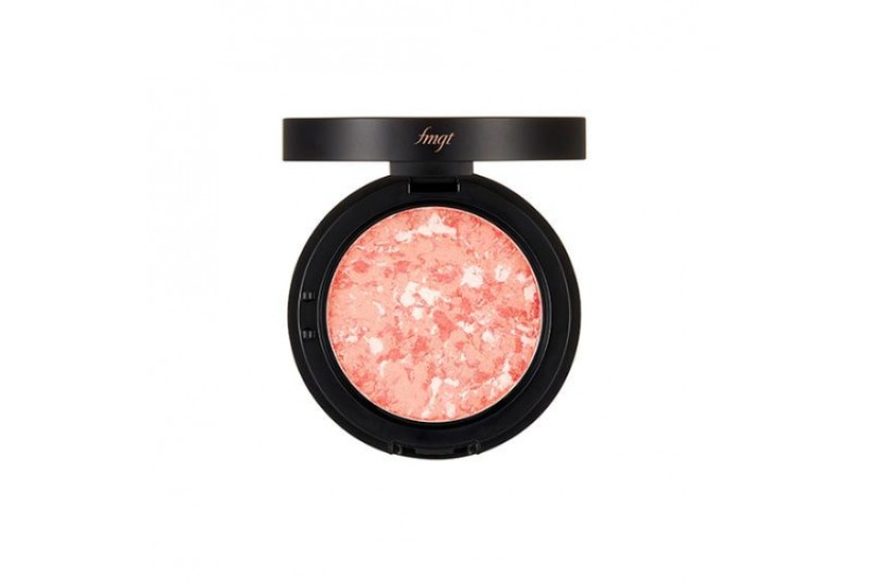 The Face shop Marble Beam Blusher 02 Love Coral