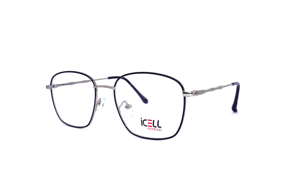 frames (icell9743 black silver) with a distinctive look and stylish