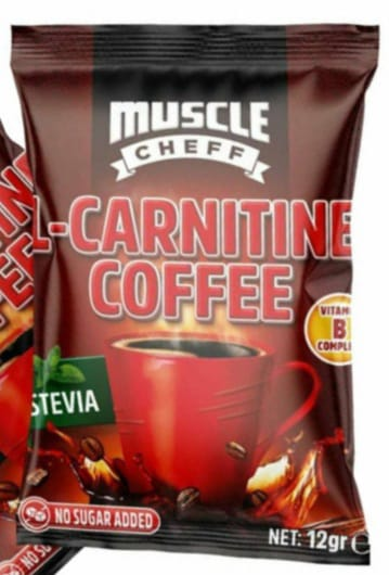 Muscle Cheff - L-Carnitine Coffee  - 12 G