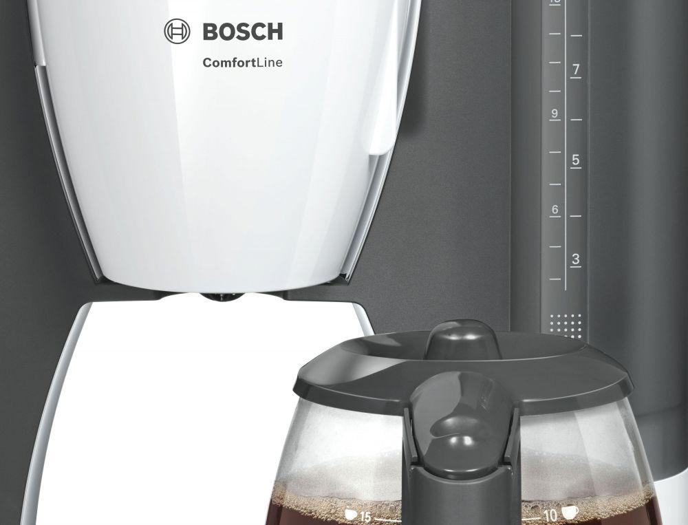 بوش ماكينة قهوة مفلترة مسحوق,ابيض - TKA6A041