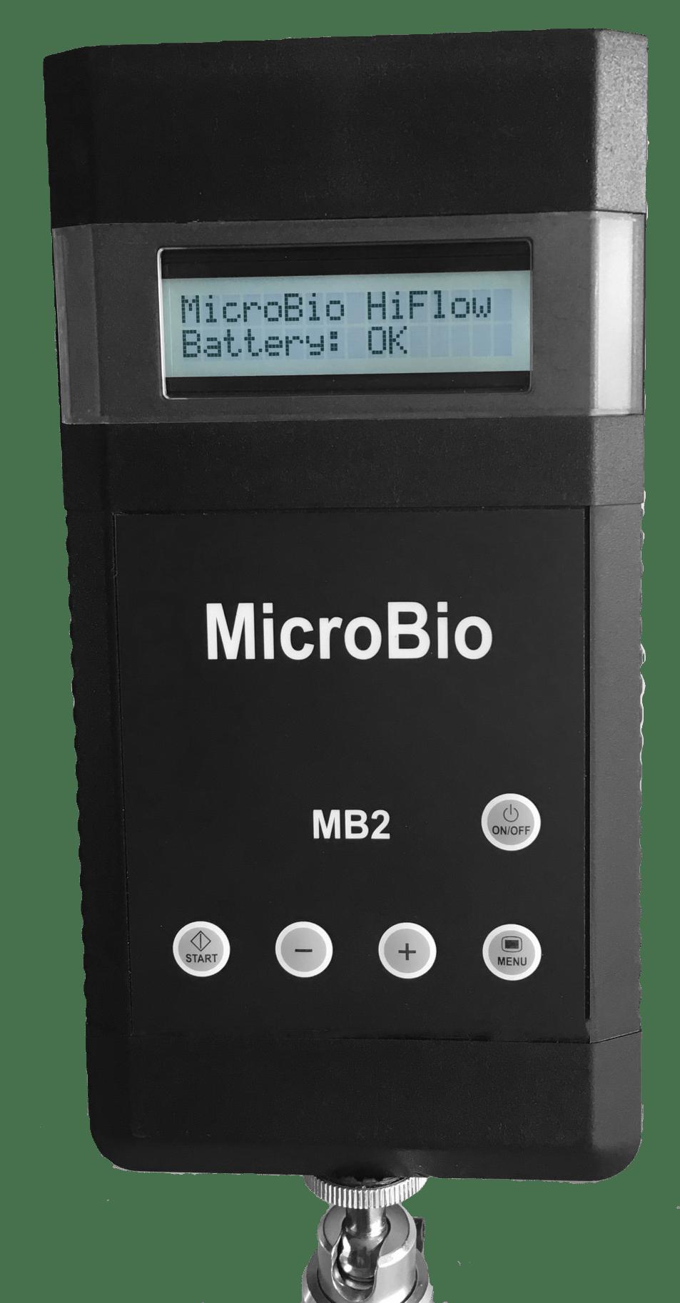 MicroBio MB2-HiFlow Bioaerosol Sampler