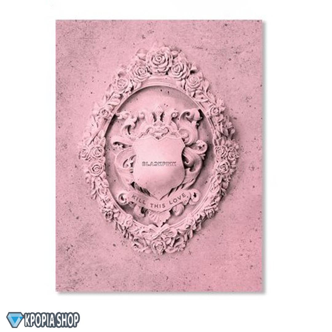 BLACKPINK – Mini Album Vol.2 [KILL THIS LOVE] – النسخة البنكية   توجد هدية مجانية لعملاء كيبوبية شوب