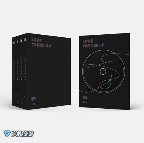 BTS – Album Vol.3 [LOVE YOURSELF 轉 Tear - بوستر مجاني
