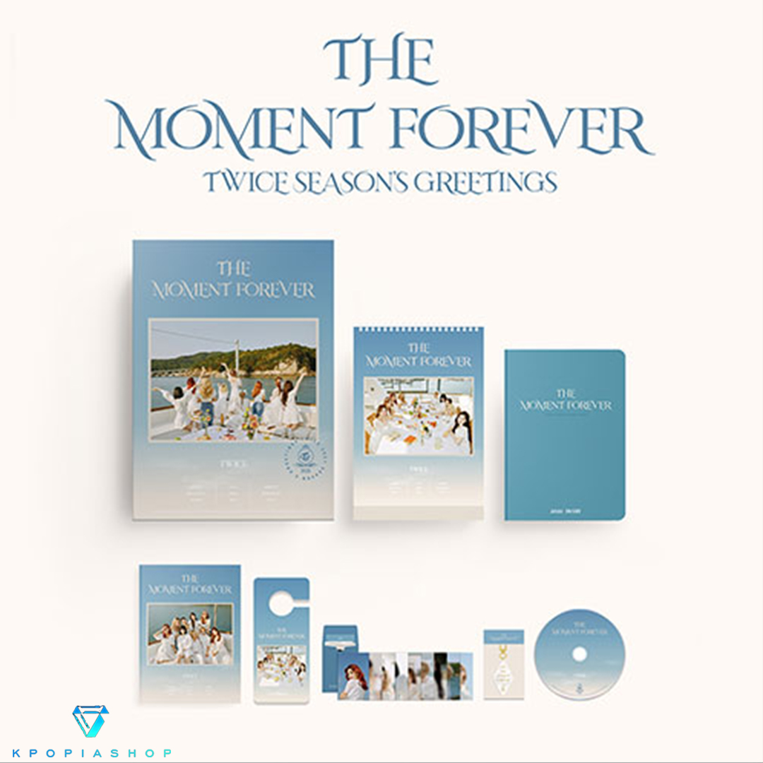 TWICE - TWICE 2021 SEASON'S GREETINGS - THE MOMENT FOREVER