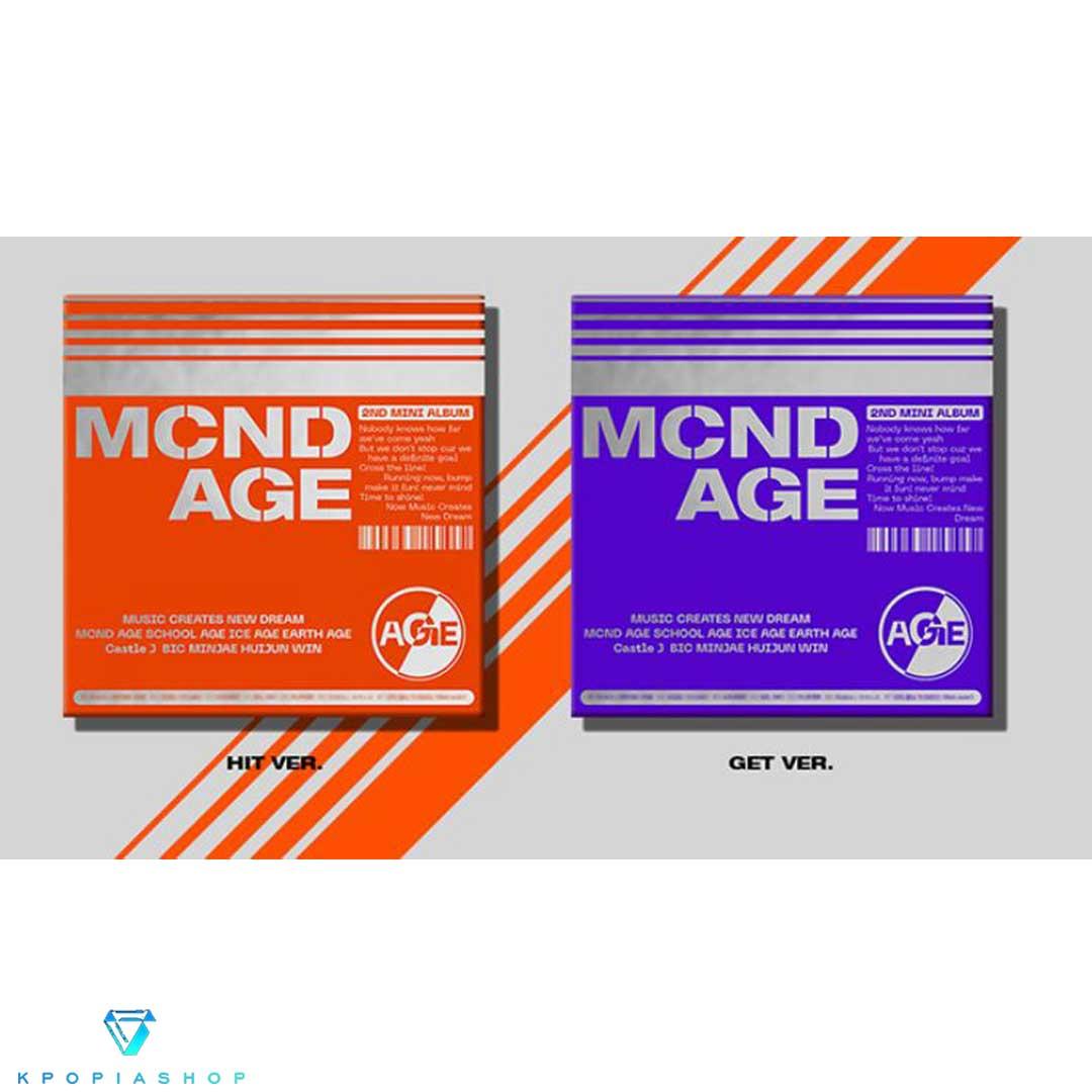 Mini Album Vol. 2 [MCND AGE] (النسخة الكاملة.)