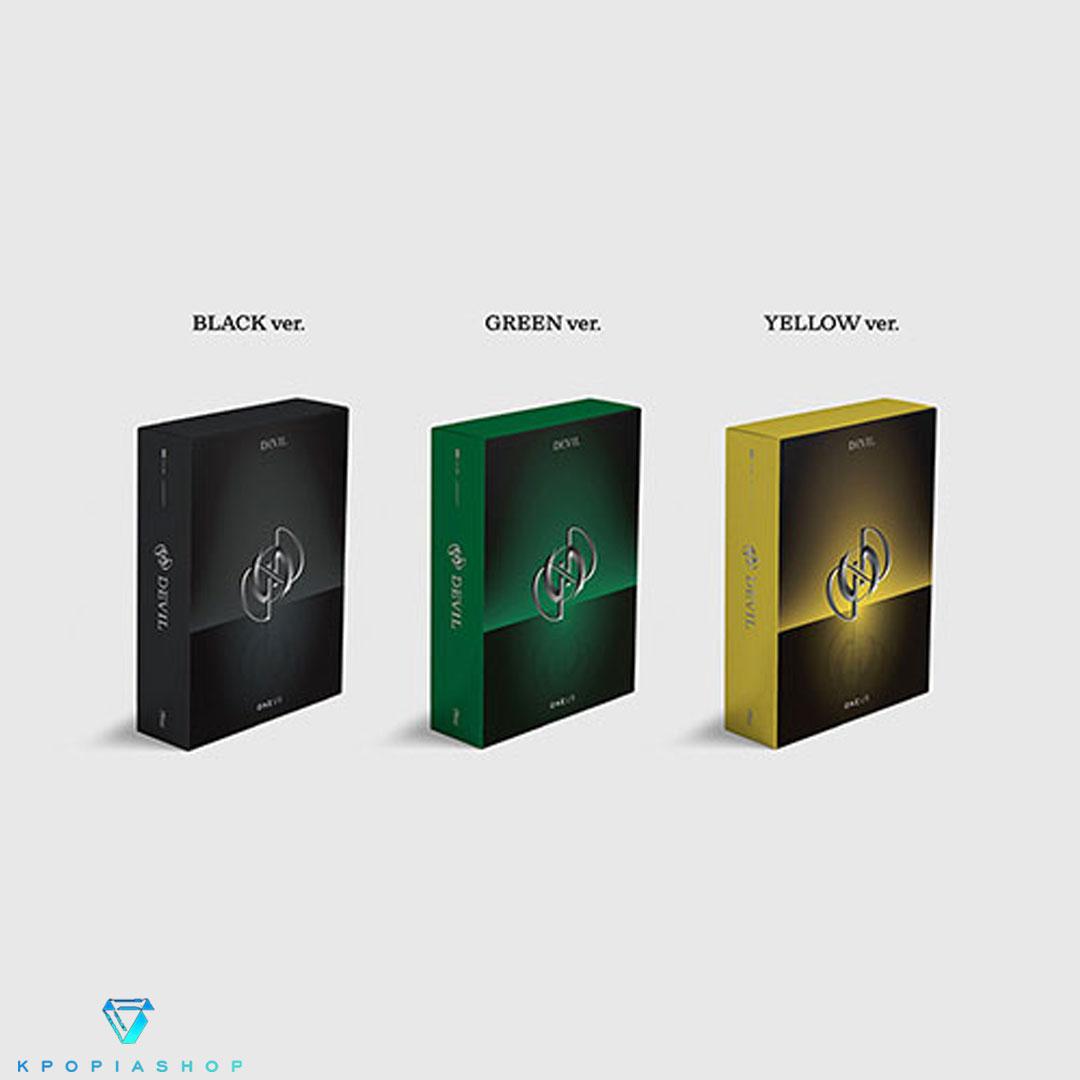 ONEUS - Album Vol.1 [DEVIL] (النسخة الكاملة.)