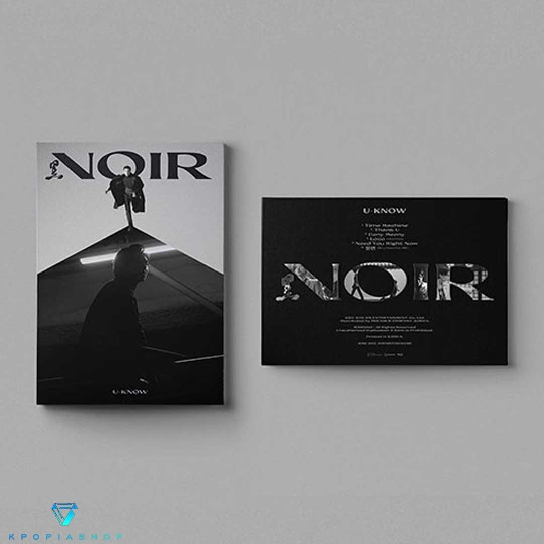 U-Know - Mini Album Vol.2 [NOIR] (النسخة الكاملة.)