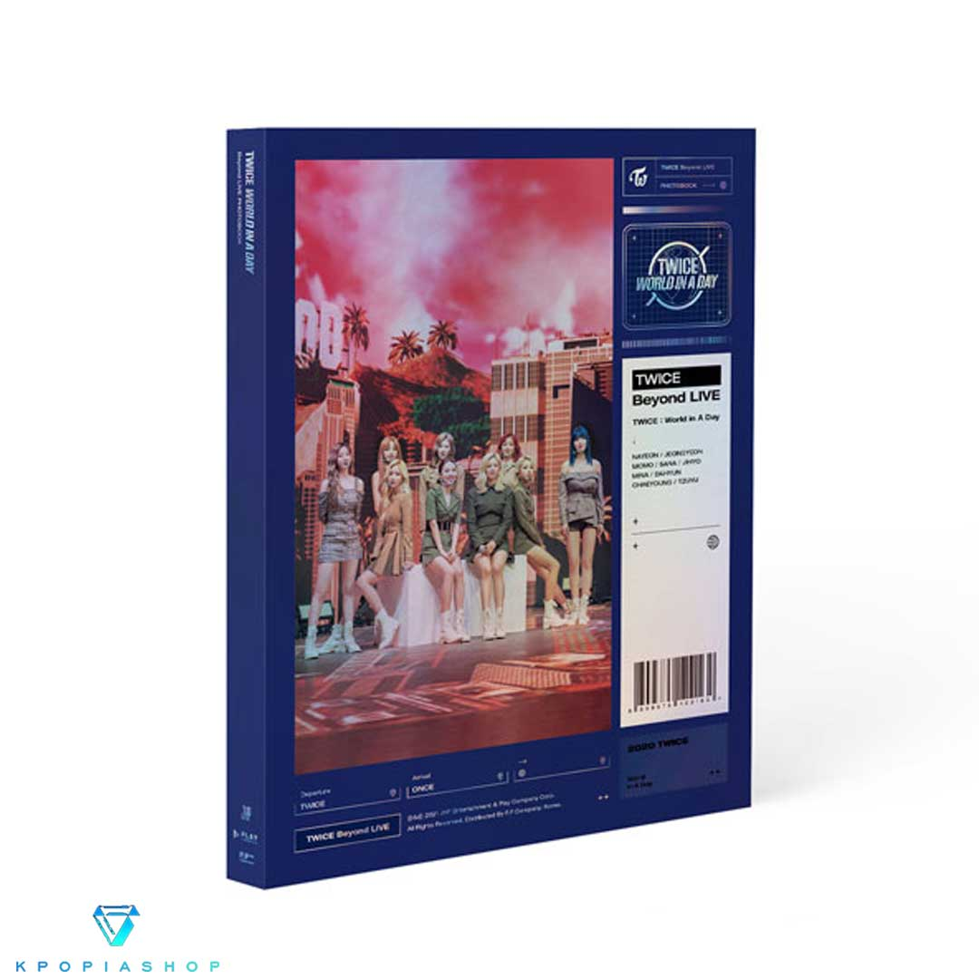 TWICE - [Beyond LIVE - TWICE : World in A Day PHOTOBOOK]