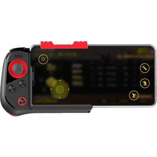 وحدة تحكم الألعاب جويستيك بلوتوث اللاسلكية Ipega 9121 - مقبض متوافق مع Android-PC-Smart TV