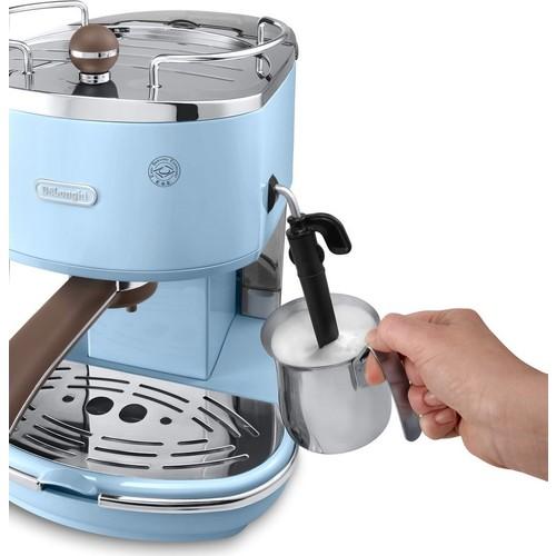 ديلونجي ECOV311.AZ Icona Vintage Series ماكينة تحضير قهوة اسبريسو وكابتشينو   قهوة جاهزة