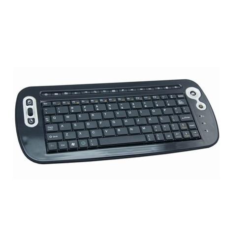 لوحة مفاتيح وير لس  مالاكة ايفرست 250W Black 2.4Ghz صغيرة الحجم