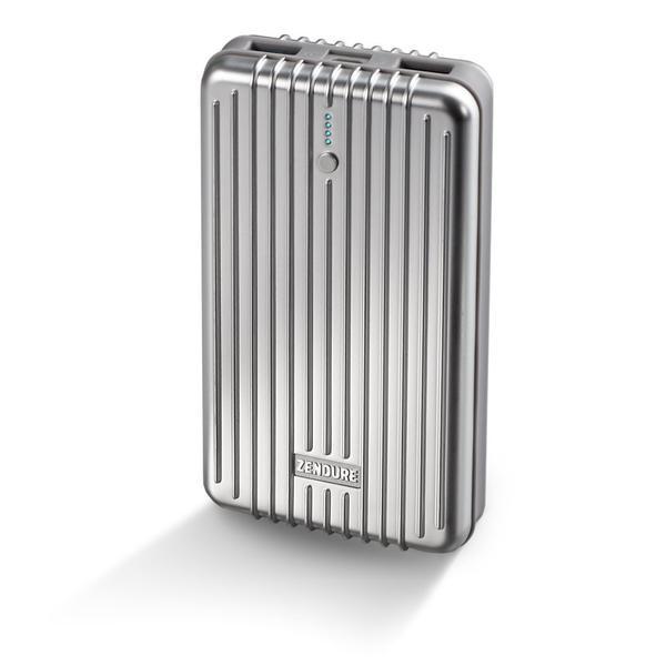 زندور-A5بطارية متنقلة طاقة ١٦٧٥٠ ميلي أمبير-فضي