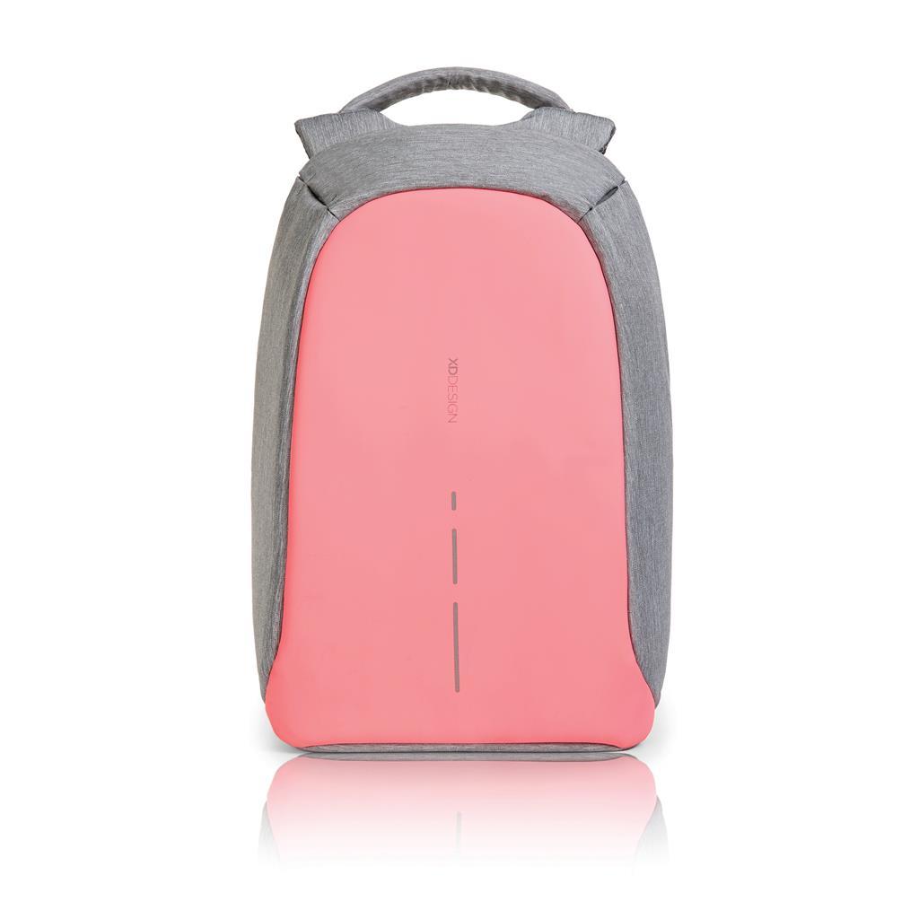 اكس دي ديزاين-بوبي كومباكت حقيبة ظهر مضادة للسرقة-وردي