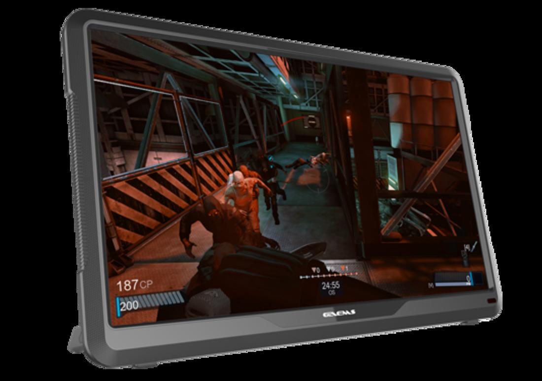 جيمز-شاشة ألعاب ام 155  المحمولة  مقاس 15.5 بوصة بتقنية 1080p FHD