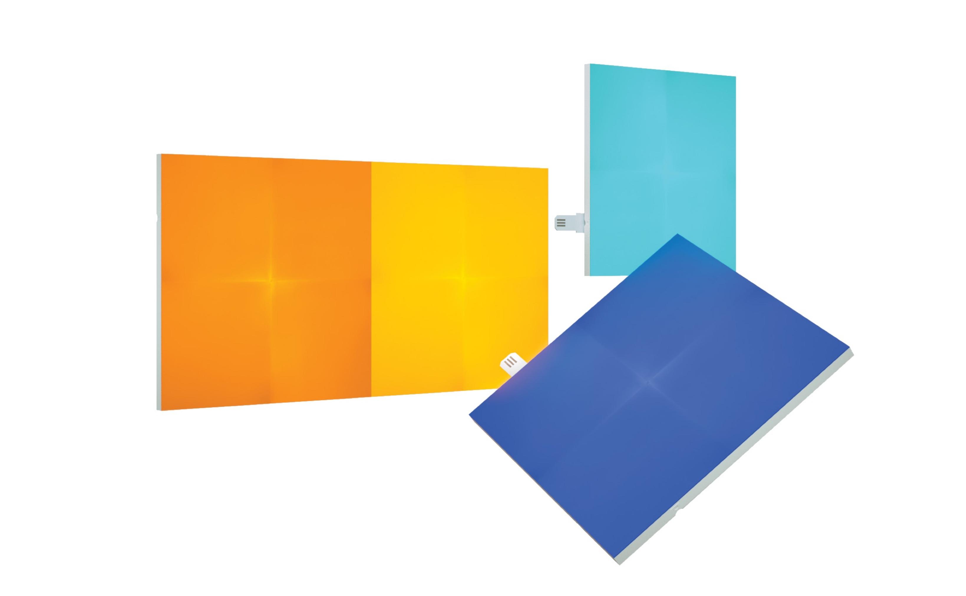 نانوليف-كانفاس  الواح اضاءة اضافية LED الذكيه (4 قطع ) ملحق اضافي