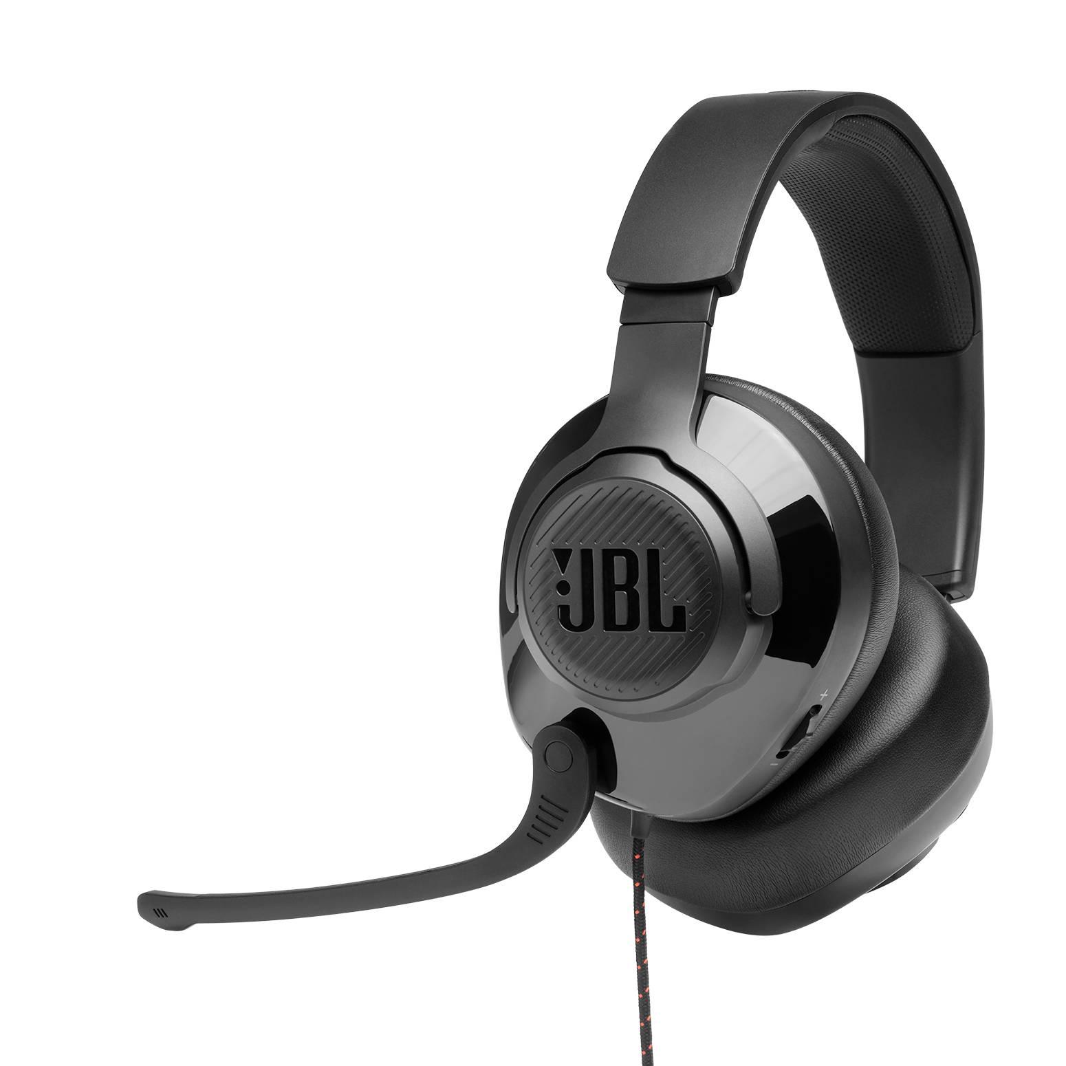 سماعة رأس جى بى ال QUANTUM200  سلكيه مع ميك للألعاب - أسود