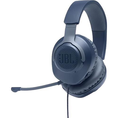 سماعة رأس جى بى ال QUANTUM100  سلكيه مع ميك للألعاب - أزرق