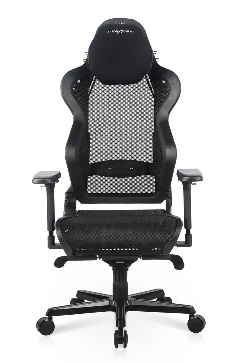 دي اكس ريسر -كرسي ألعاب Air Series تصميم شبكي يسمح بمرور الهواء-اسود